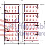 School floor plan 189-9387