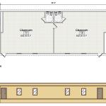 Classroom Floor Plan 217-2868