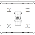 Four Classroom Floor Plan 219-5668