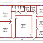 Commercial Building Floor Plan 225-4160