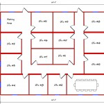Commercial Building Floor Plan 606-4860
