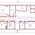 Commercial Building Floor Plan 624-35561