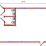 Commercial Building Floor Plan 639-2460