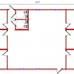 Commercial Building Floor Plan 640-3560