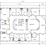 Healthcare Floor Plan 365-5070