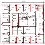 Healthcare Floor Plan 414-7166