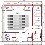 Church Floor Plan 118-6260