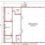 Church Floor Plan 296-5868