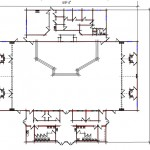 Church Floor Plan 302-11480
