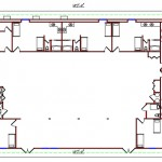 Dormitory Floor Plan 211-10762