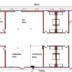 Modular Dormitory Floor Plan 212-10762