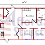Modular Dorm Room Floor Plan 228-2460