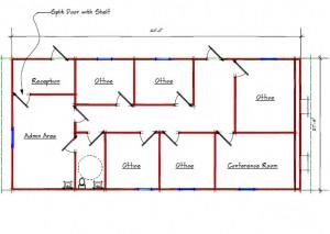 Sales Office 10059 Floor Plan
