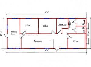 Sales Office 10067 Floor Plan