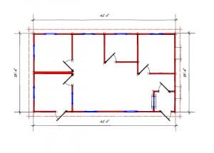 Sales Office 10025 Floor Plan