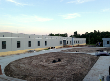 Construction of Academy at the Farm Charter School