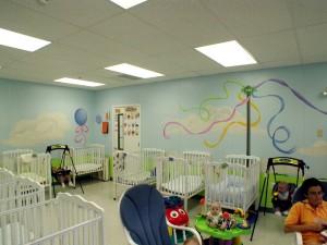 Leesburg Regional Daycare infant area