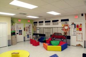 Leesburg Regional Daycare play room