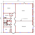 sanctuary floor plan -313-5860