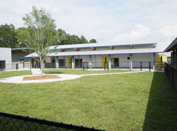 head start in Jennings, FL, interior courtyard