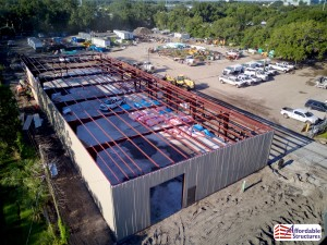 Pre-engineered Steel Building Erection HDR-2